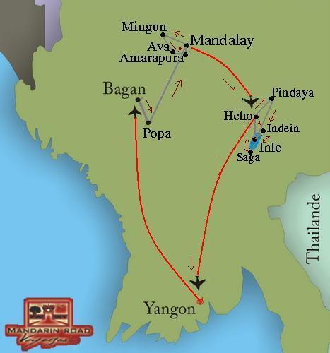 La Birmanie a sa guise