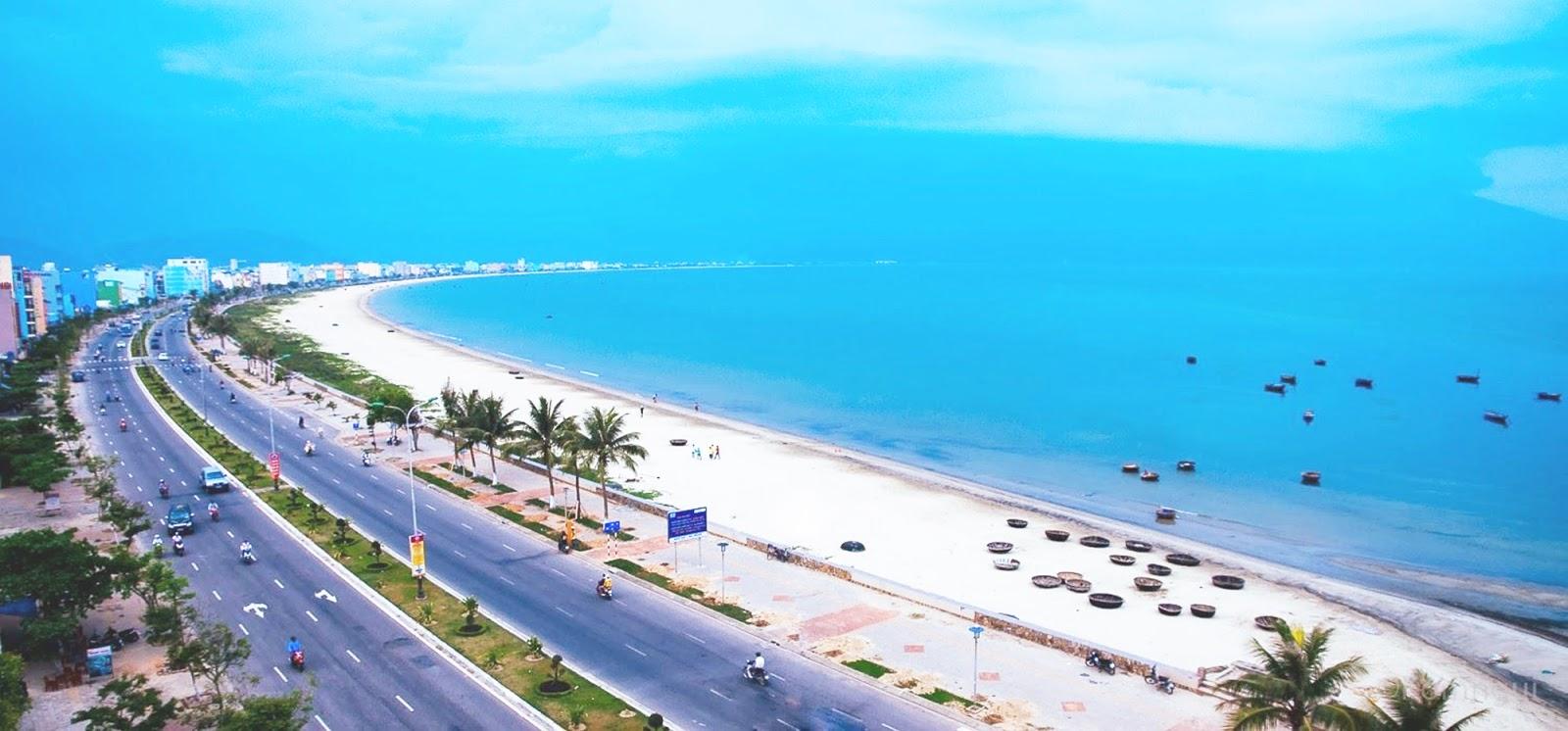 La plage Cua Dai