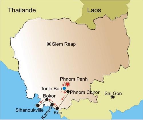 De Kep à Sihanoukvill - Court