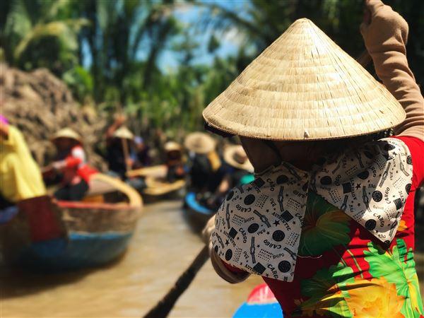 Le Vietnam et le Cambodge au fil de l'eau