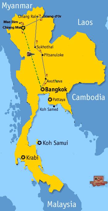 Authentique Thailande & Charme Cambodge