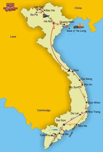 Grande traversée du Vietnam