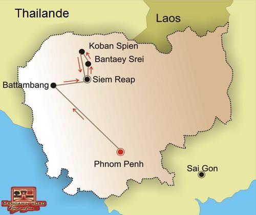 Au coeur du Cambodge