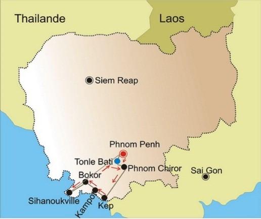 De Kep à Sihanoukville - Long
